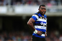 Semesa Rokoduguni of Bath Rugby looks on during a break in play. Aviva Premiership match, between Bath Rugby and Worcester Warriors on September 17, 2016 at the Recreation Ground in Bath, England. Photo by: Patrick Khachfe / Onside Images
