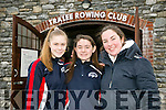 Ciara Darcy, Sarah Hoare and Rebecca Divane at the official opening of the Tralee Rowing Club Boathouse on Saturday