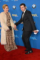 Lou Diamond Phillips & wife at the 70th Annual Directors Guild Awards at the Beverly Hilton Hotel, Beverly Hills, USA 03 Feb. 2018<br /> Picture: Paul Smith/Featureflash/SilverHub 0208 004 5359 sales@silverhubmedia.com