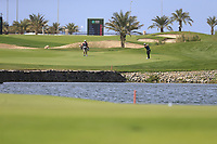 Haydn Porteous (RSA) playing into the 18 green during the 3rd round of  the Saudi International powered by Softbank Investment Advisers, Royal Greens G&CC, King Abdullah Economic City,  Saudi Arabia. 01/02/2020<br /> Picture: Golffile | Fran Caffrey<br /> <br /> <br /> All photo usage must carry mandatory copyright credit (© Golffile | Fran Caffrey)