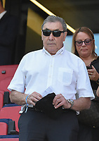 20190629 - VALENCIENNES , FRANCE : Belgian bike ride legend Eddy Merckx pictured before the female soccer game between Italy  - Squadra Azzurrine - and The Netherlands  – Oranje Leeuwinnen - , a knock out game in the quarter finals of the FIFA Women's  World Championship in France 2019, Saturday 29 th June 2019 at the Stade du Hainaut Stadium in Valenciennes , France .  PHOTO SPORTPIX.BE | DIRK VUYLSTEKE