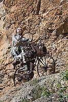 Europe/France/Midi-Pyrénées/46/Lot/Env de Cabrerets/ Liauzu: Musée de l'insolite de Bertrand Chenu dans la Vallée du Célé