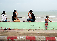 Street life and street scenes in Sittwe, the capital of Rakhine State, Myanmar (Burma)