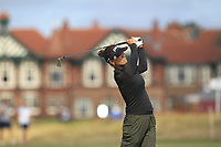 Annie Park (USA) on the 2nd fairway during Round 3 of the Ricoh Women's British Open at Royal Lytham &amp; St. Annes on Saturday 4th August 2018.<br /> Picture:  Thos Caffrey / Golffile<br /> <br /> All photo usage must carry mandatory copyright credit (&copy; Golffile | Thos Caffrey)