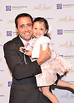 Keith Lind and his daughter Avery at Making Headway Foundation's  Holly's Angels gala at Cipriani in New York City.  The benefit was in honor of the memory of Holly Lind. Making Headway supports research, medical care, and social services for pediatric brain cancer and spinal chord cancer patients and their families.