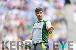 manager Eamonn Fitzmaurice Kerry v Dublin in the All Ireland Senior Football Semi Final at Croke Park on Sunday.