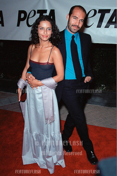 18SEP99: Actor BILLY ZANE & actress fiancée LEONORE VARELA at PETA's Party of the Century, in Los Angeles.     .© Paul Smith / Featureflash