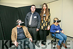 HORIZON EXHIBIT End of Year Creative Media exhibition at the Education Centre IT Tralee on Thursday. Pictured Oliver O'Sullivan, BA in Music Technology, and Jessica Murphy, BA in TV, Radio & New Media Broadcasting with their Project REPEAL - A VR Experience