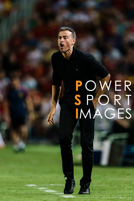 Luis Henrique Spain Head Coach gestures during their UEFA Nations League 2018-19 match between Spain and Croatia at Manuel Martínez Valero on September 11 2018 in Elche, Spain. Photo by Diego Souto / Power Sport Images
