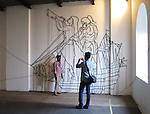 WHORLED EXPLORATIONS - Kochi Muziris Biennale 2014 - Hew Locke work.