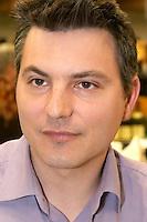 Alexander Fouque, Domaine de la Tour Penedesses. Faugeres. Languedoc. Owner winemaker. France. Europe.