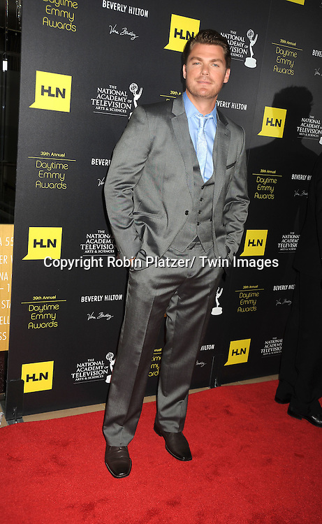 Jeff Branson attends the 39th Annual Daytime Emmy Awards on June 23, 2012 at the Beverly Hilton in Beverly Hills, California. The awards were broadcast on HLN.