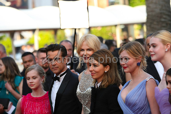 """24 May 2017 - Cannes, France - Actors Colin Farrell, Nicole Kidman, Sophia Coppola, Kirsten Dun. """"The Beguiled"""" Premiere - The 70th Annual Cannes Film Festival. Photo Credit: Georg Wenzel/face to face/AdMedia"""