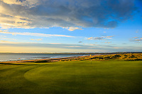 General view from 16th green during Day 3 of the Boys' Home Internationals played at Royal Dornoch Golf Club, Dornoch, Sutherland, Scotland. 09/08/2018<br /> Picture: Golffile | Phil Inglis<br /> <br /> All photo usage must carry mandatory copyright credit (&copy; Golffile | Phil Inglis)