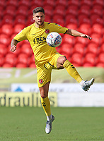 Fleetwood Town's Danny Andrew in action<br /> <br /> Photographer David Shipman/CameraSport<br /> <br /> The EFL Sky Bet League One - Doncaster Rovers v Fleetwood Town - Saturday 17th August 2019  - Keepmoat Stadium - Doncaster<br /> <br /> World Copyright © 2019 CameraSport. All rights reserved. 43 Linden Ave. Countesthorpe. Leicester. England. LE8 5PG - Tel: +44 (0) 116 277 4147 - admin@camerasport.com - www.camerasport.com
