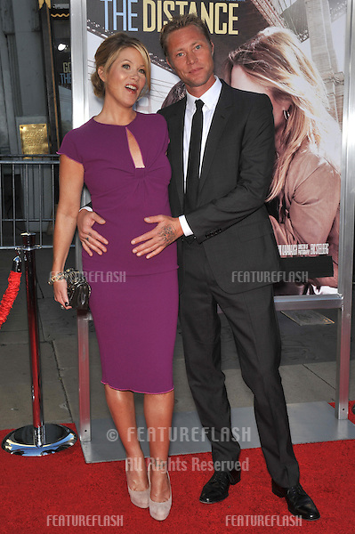 "Christina Applegate & fiancé Martyn LeNoble at the Los Angeles premiere of her new movie ""Going the Distance"" at Grauman's Chinese Theatre, Hollywood..August 23, 2010  Los Angeles, CA.Picture: Paul Smith / Featureflash"