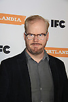 Jim Gaffigan - IFC comedy series Portlandia Season 3 New York Premiere Event on November 10, 2012 at American Museum of Natural History, New York City, New York. It is created, written by and stars Fred Armisen and Carrie Brownstein with executive producer Lorne Michaels. General Hospital Amber Tamblyn is in the production and poses with husband David Cross. (Photo by Sue Coflin/Max Photos)