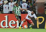 Atlético Nacional y Huracán de Argentina igualaron 0-0 en el Atanasio Girardot de Medellín. Fase de Grupos de la Copa Libertadores