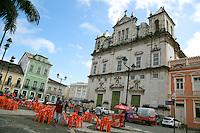 SALVADOR, BA, 23.05.2015 - PELOURINHO-BA - Imagem de arquivo da Fachada da Catedral Basílica no Pelourinho, Centro Histórico de Salvador (BA).  (Foto: Joá Souza / Brazil Photo Press).