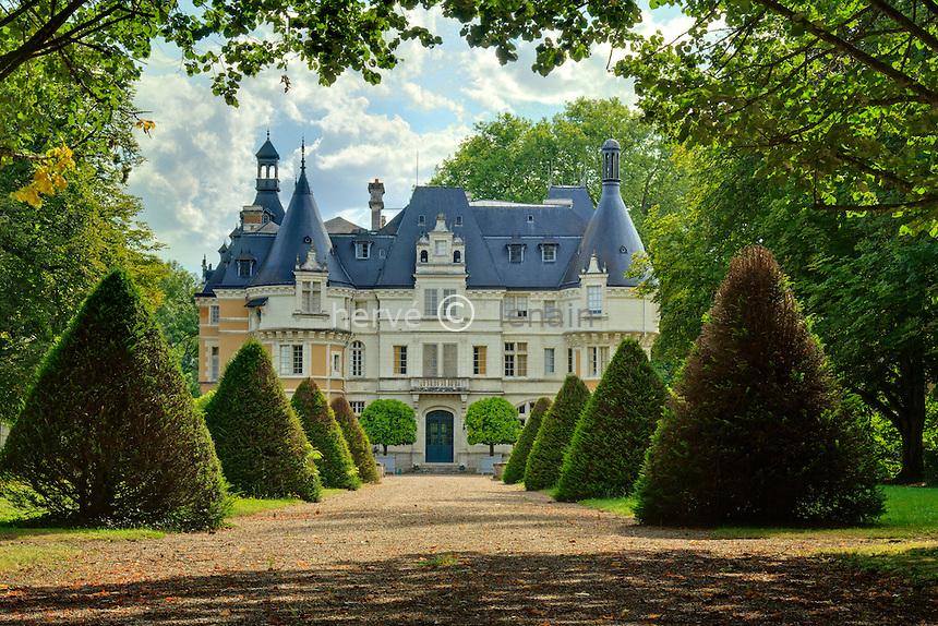 France, Indre (36), Langé, le château // France, Indre, Lange, the Castle