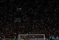 RIO DE JANEIRO, RJ, 27.10.2018 - FLAMENGO-PALMEIRAS - Queda de luz durante Flamengo x Palmeiras em jogo válido pela trigésima primeira rodada do Campeonato Brasileiro 2018 no estádio do Maracanã no Rio de Janeiro, neste sábado, 27. (Foto: Clever Felix/Brazil Photo Press)