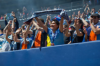BRONX, New York - Saturday, June 3, 2017: New York City FC takes on defeats the Philadelphia Union 2-1 at home at Yankee Stadium during the MLS regular season.
