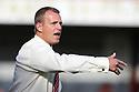Stevenage manager Gary Smith. Stevenage v Crewe Alexandra - npower League 1 -  Lamex Stadium, Stevenage - 15th September, 2012. © Kevin Coleman 2012.