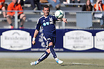 24 February 2013: Carolina's Sam Stockley. The NASL Carolina RailHawks played MLS's Vancouver Whitecaps FC at WakeMed Stadium in Cary, North Carolina in a 2013 preseason game. Vancouver won the game 3-0.
