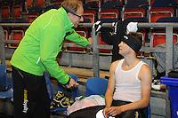 SCHAATSEN: HEERENVEEN: 17-06-2014, IJsstadion Thialf, Zomerijs training, Jac Orie, Sven Kramer, ©foto Martin de Jong