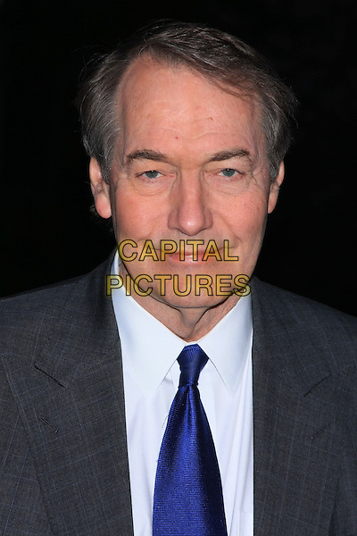 CHARLIE ROSE .Attend the 9th Annual Tribeca Film Festival Vanity Fair Party held at the New York State Supreme Courthouse, New York, NY, USA.              .April 20th, 2010.headshot portrait grey gray blue  .CAP/LNC.©TOM/LNC/Capital Pictures.