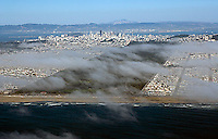aerial photograph Golden Gate Park San Francisco