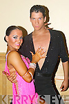 TALENTED: Katri Makinen and Joonas Piippola who are ranked 2nd in Finland for Ballroom Dancing, brought talent and style to the Brandon Hotel where the International Celtic Classic Ballroom Dance Championships were on at the weekend.