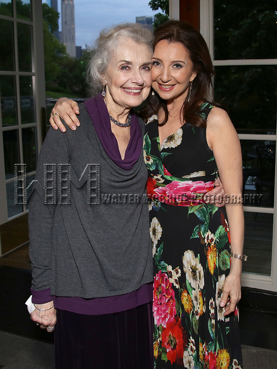 Mary Beth Peil and Donna Murphy attends the Urban Stages' 35th Anniversary celebrating Women in the Arts at the Central Park Boat House on May 15, 2019 in New York City.