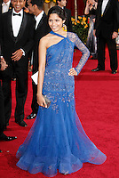 Freida Pinto arrives at the 81st Annual Academy Awards held at the Kodak Theatre in Hollywood, Los Angeles, California on 22 February 2009