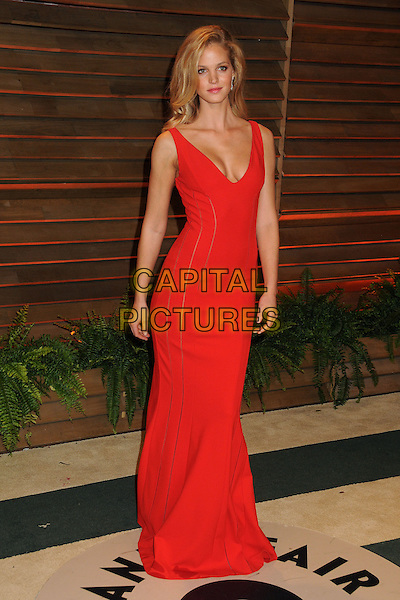 02 March 2014 - West Hollywood, California - Erin Heatherton. 2014 Vanity Fair Oscar Party following the 86th Academy Awards held at Sunset Plaza. <br /> CAP/ADM/BP<br /> &copy;Byron Purvis/AdMedia/Capital Pictures