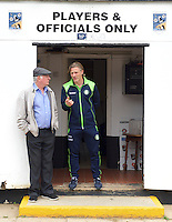Manager Gareth Ainsworth of Wycombe Wanderers  before the Friendly match between Maidenhead United and Wycombe Wanderers at York Road, Maidenhead, England on 30 July 2016. Photo by Alan  Stanford PRiME Media Images.