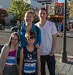 The Solomon family during the Downtown River Run on Sunday, April 30, 2017 in Reno, Nevada.
