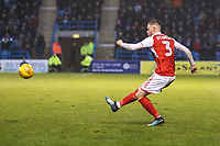 Kevin O'Connor of Fleetwood Town during the Sky Bet League 1 match between Gillingham and Fleetwood Town at the MEMS Priestfield Stadium, Gillingham, England on 27 January 2018. Photo by David Horn.