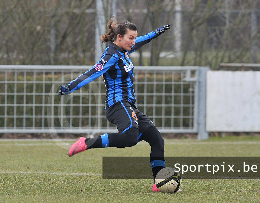 Club Brugge Dames : Evy De Smedt.foto DAVID CATRY / Vrouwenteam.be
