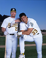 Mark McGwire and Jose Canseco