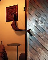 A well-worn door opens into Ricardo Fasanello's studio