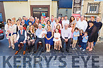 The christening of Emily McDonald from Tralee on Saturday evening in the Denny Lane Bistro.<br /> Seated l to r: Declan McGinty (GF), Laura Burke (GM), Mike McDonald, Phildelma McGinty, Lily McDonald, Lorraine McGinty (GM) and Donald O'Connor (GF).