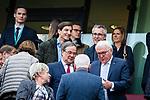 01.05.2019, RheinEnergie Stadion , Köln, GER, 1.FBL, Borussia Dortmund vs FC Schalke 04, DFB REGULATIONS PROHIBIT ANY USE OF PHOTOGRAPHS AS IMAGE SEQUENCES AND/OR QUASI-VIDEO<br /> <br /> im Bild | picture shows:<br /> Bundespraesident Frank Walter Steinmeier ist auf der Ehrentribüne Gast, <br /> <br /> Foto © nordphoto / Rauch