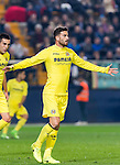 Mateo Pablo Musacchio of Villarreal CF reacts during their La Liga match between Villarreal CF and Real Madrid at the Estadio de la Cerámica on 26 February 2017 in Villarreal, Spain. Photo by Maria Jose Segovia Carmona / Power Sport Images