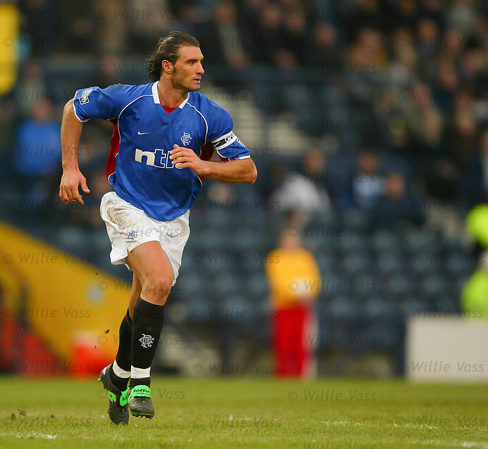 Lorenzo Amoruso, Rangers