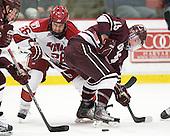Luke Greiner (Harvard - 26), Austin Mayer (Colgate - 19) - The Harvard University Crimson defeated the visiting Colgate University Raiders 4-2 on Saturday, November 12, 2011, at Bright Hockey Center in Cambridge, Massachusetts.