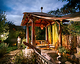 AUSTRIA, Schutzen Am Gerbige, outdoor lounge area at the Taubenkobel Hotel and Restaurant, Burgenland