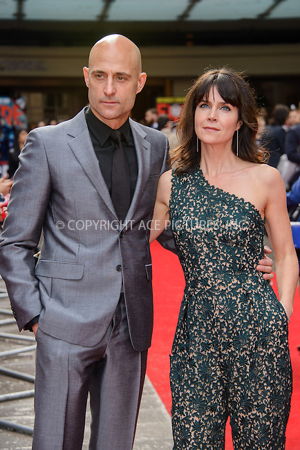 WWW.ACEPIXS.COM<br /> <br /> March 29 2015, London<br /> <br /> Mark Strong and Liza Marshall arriving at the Jameson Empire Awards at the Grosvenor Hotel on March 29 2015 in London.<br /> <br /> By Line: Famous/ACE Pictures<br /> <br /> <br /> ACE Pictures, Inc.<br /> tel: 646 769 0430<br /> Email: info@acepixs.com<br /> www.acepixs.com