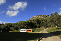 View from the 7th during the Pro-Am of the Challenge Tour Grand Final 2019 at Club de Golf Alcanada, Port d'Alcúdia, Mallorca, Spain on Wednesday 6th November 2019.<br /> Picture:  Thos Caffrey / Golffile<br /> <br /> All photo usage must carry mandatory copyright credit (© Golffile | Thos Caffrey)