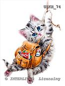 Kayomi, CUTE ANIMALS, paintings, HangInThere_M, USKH74,#AC# stickers illustrations, pinturas ,everyday